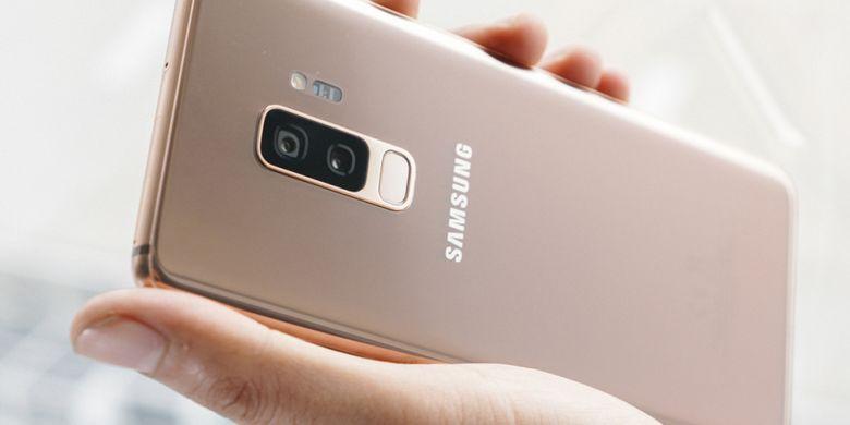 Galaxy S9 Plus Edisi Sunrise Gold dari Berbagai Sisi