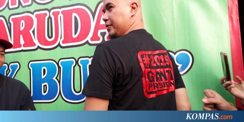 TMPI 5 Fakta Penolakan Tokoh #GantiPresiden Ahmad Dhani di Surabaya, Terjebak 3 Jam hingga Polwan Dicakar - Kompas.com