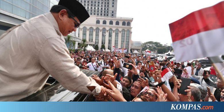Prabowo: Bangsa Kita Bukanlah Bangsa Kacung...
