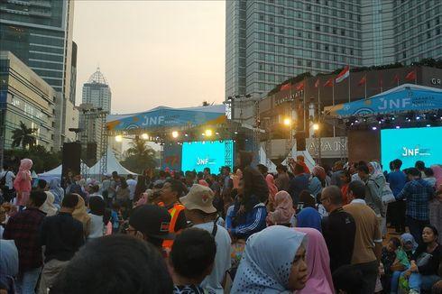 Perayaan Ultah DKI di HI Hasilkan 73 Ton Sampah