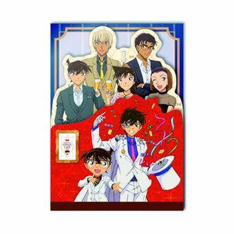 """Detective Conan Café 2019 3 Level Memo (harga 648 yen). (Copyright Aoyama Gosho/ Shogakukan, Yomiuri TV, TMS 1996)"