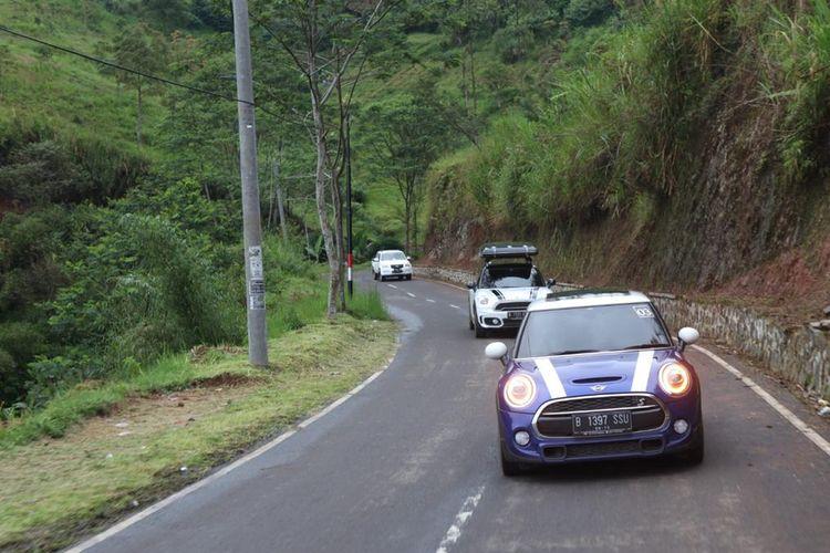 Mini Driving Experience, Pangalengan, Bandung.