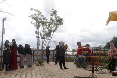 Jelang Ramadhan, Obyek Wisata Gunung Sakal Dipadati Wisatawan