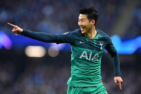 Man City Vs Tottenham, Son Heung-min dkk Lolos ke Semifinal