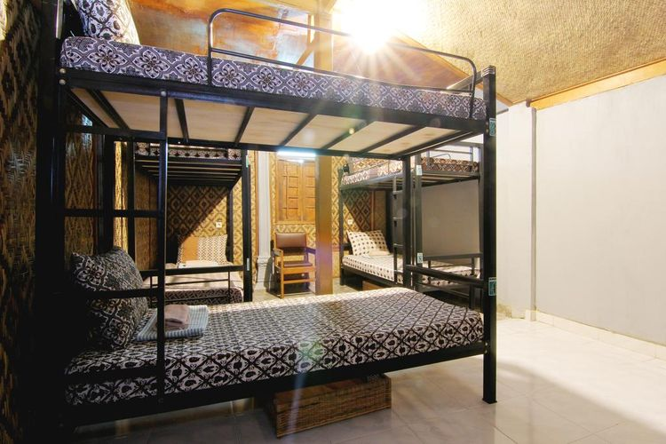 kamar dormitory Bilik bamboo