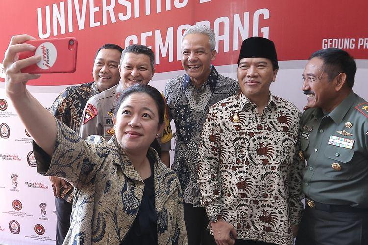 Di Semarang, Puan Pesan Agar Pancasila Jadi Pedoman Pembangunan