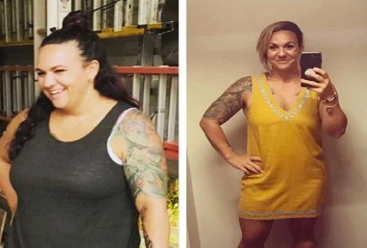 18 Bulan, Wanita Ini Turunkan Berat Badan hingga 27 Kg