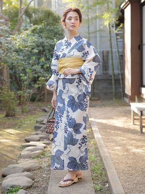 Yukata Berpola Natsu No Budou dari AMERICAN HOLIC