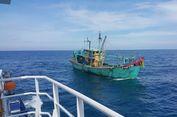 Curi Ikan di Perairan Indonesia, Kapal Berbendera Malaysia Ditangkap