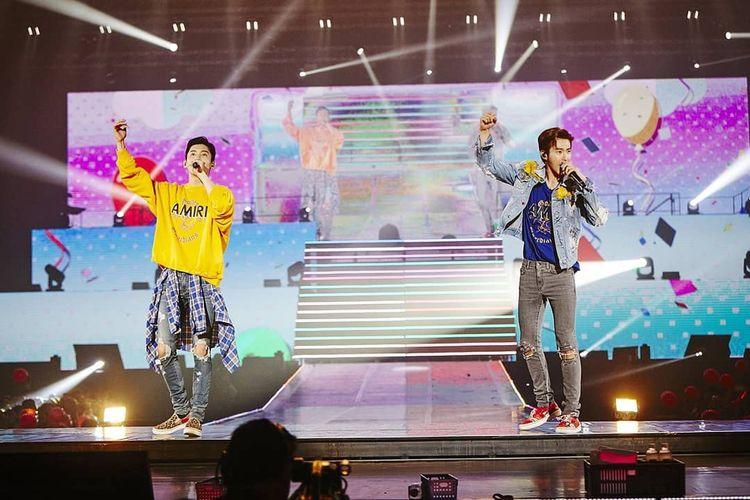 Duo K-pop TVXQ.