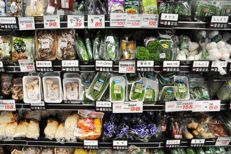 ILUSTRASI - Supermarket