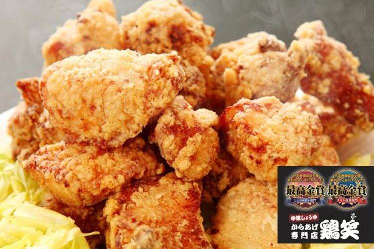 """Peraih monde selection dalam """"Karaage Grand Prix®"""" ke-8 untuk kategori chicken nanban; peraih monde selection kejuaraan ke-10 dalam kategori saus shoyu Jepang Timur."""