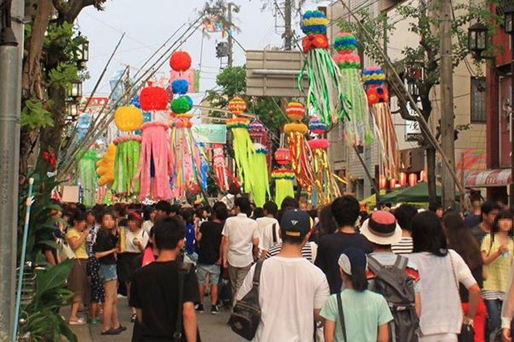 Anjo Tanabata Festival (Kota Anjo, Prefektur Aichi)