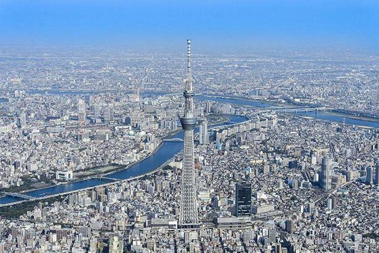 Nikmati indahnya kota dari ketinggian