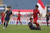 Indonesia Vs Thailand, Timnas U-23 Sulit Kembangkan Permainan