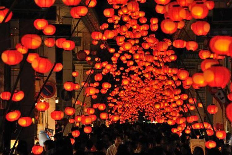 Yamaguchi Tanabata Lantern Festival (Kota Yamaguchi, Prefektur Yamaguchi)