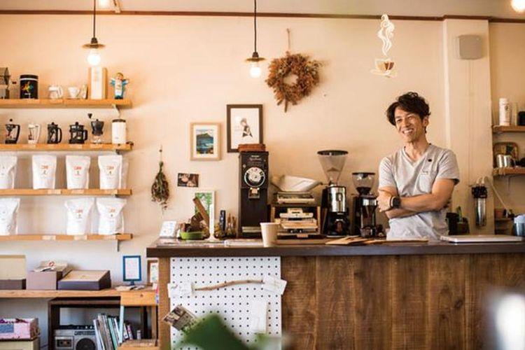 Area kafe rencananya akan diperluas dalam tahun ini