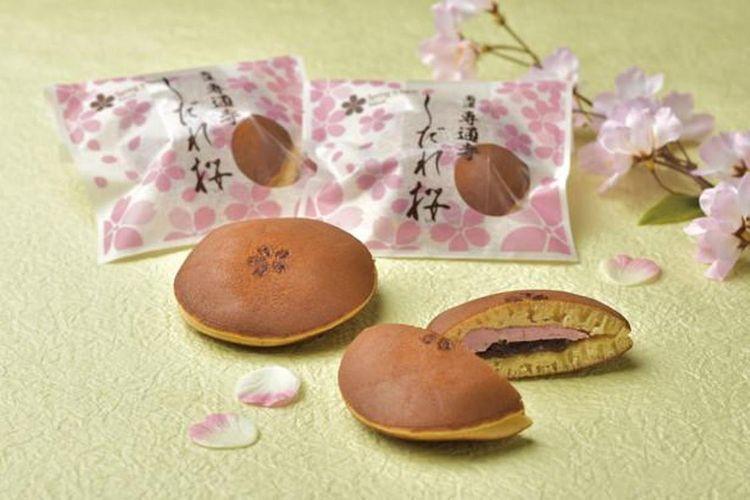 """""""Nanno-cho Sentsuji Shidarezakura"""" dari """"Kasho Owariyamasatsune"""" (162 yen)."""