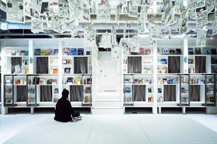 BOOK AND BED TOKYO cabang Shinsaibashi