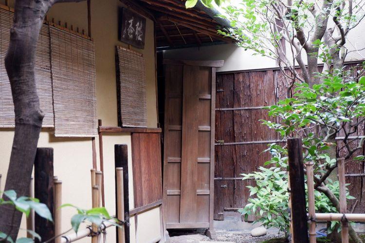 Rumah khusus untuk upacara minum teh