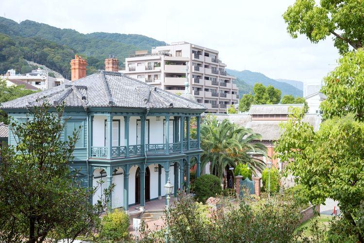 Ambil banyak foto dari kecantikan arsitektur bangunan-bangunan di kawasan ini.  ©KOBE TOURISM BUREAU