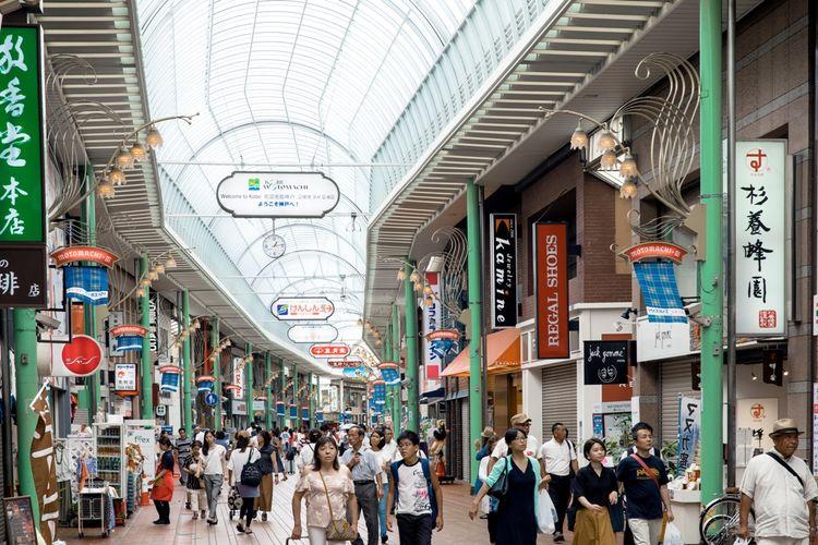 Motomachi Shopping Street.