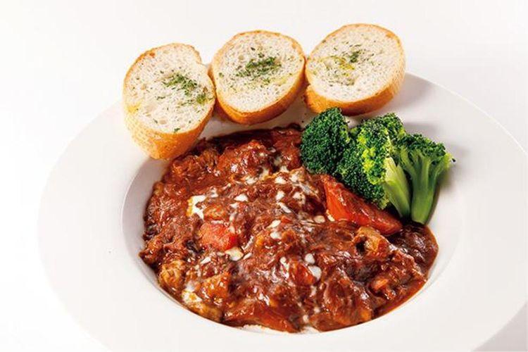 Kuroge Wagyu Demiglace Stew (842 yen)