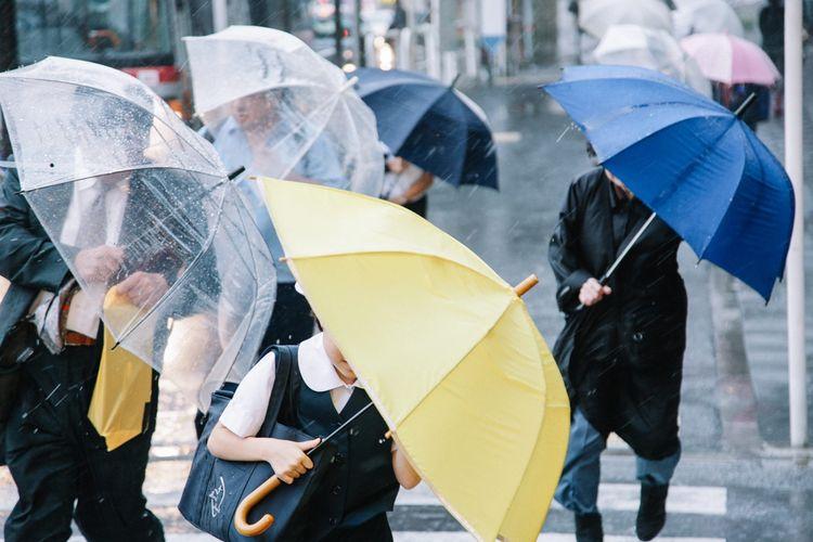 Musim hujan di Jepang