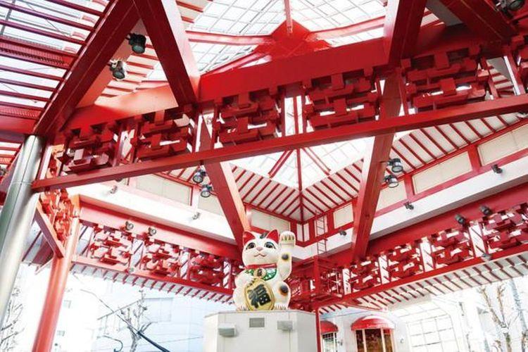 Osu Shopping Street dipenuhi beragam atraksi wisata