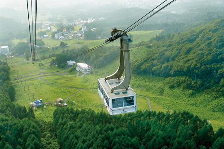 gondola Ryuo yang menuju SORA terrace