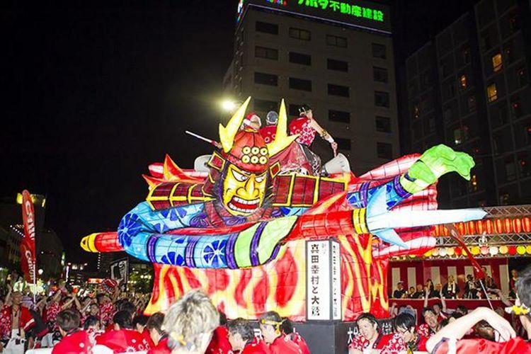 Oita Tanabata Festival (Kota Oita, Prefektur Oita)