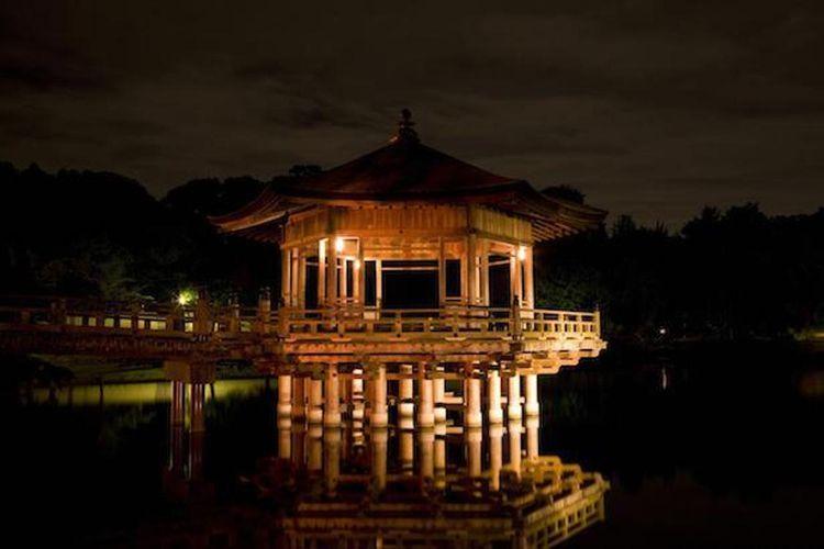 "Nikmati pemandangan fantastik dalam acara iluminasi ""Lighting-Up Promenade Nara 2019"""