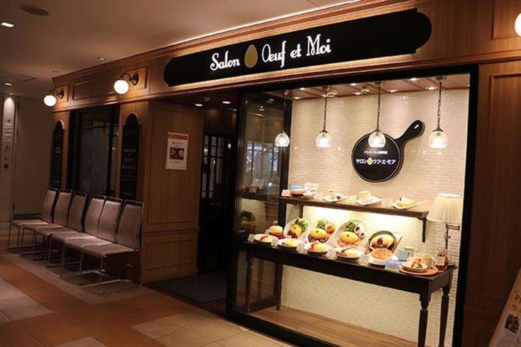 Kafe ini terletak di dalam lantai 10 Dining Park Yokohama, SOGO Yokohama. Kamu bisa menikmati hidangan kafe ini setelah selesai berbelanja.