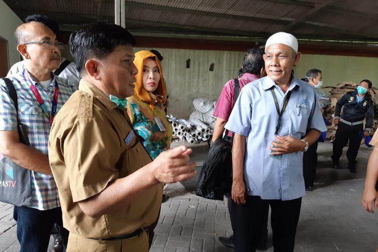 Kunjungan Dinas Lingkungan Hidup Provinsi DKI Jakarta ke Kantor Kompas Gramedia pada Selasa (19/3/2019)