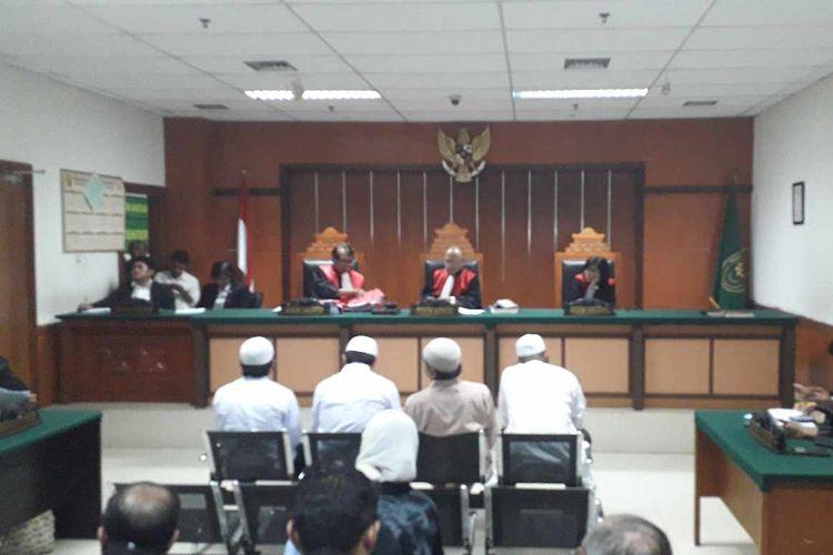 Sidang perdana kerusuhan 22 Mei 2019 di Pengadilan Negeri Jakarta Barat pada Selasa (13/8/2019).