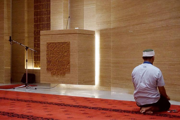 FOTO Menikmati Interior Masjid Siti Aisyah Solo