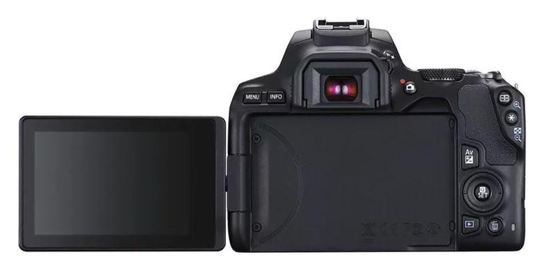 Bagian belakang Canon EOS 250D