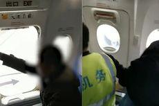 Baru Pertama Kali Naik Pesawat, Kakek Ini Paksa Buka Pintu Darurat
