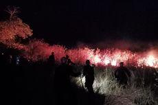 5 Hektare Lahan di Pandanan Lombok Utara Terbakar