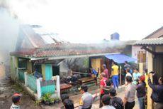 Kebakaran Hanguskan Gudang Ijuk, Bengkel dan Truk di Cianjur