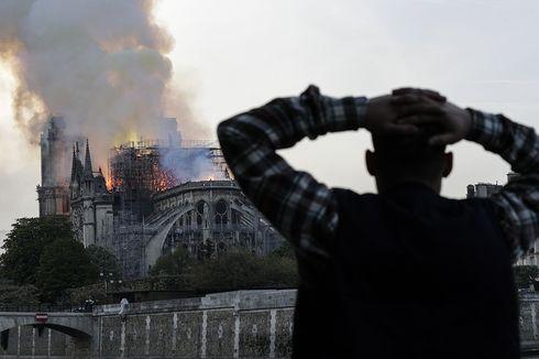 Polisi Ungkap Dugaan Penyebab Gereja Notre Dame Terbakar