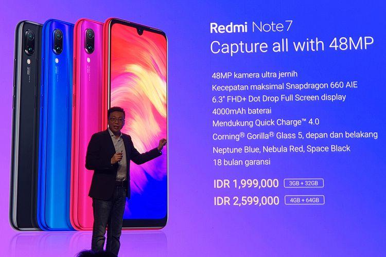 Diresmikan Xiaomi Ini Harga Redmi Note 7 Di Indonesia Halaman All