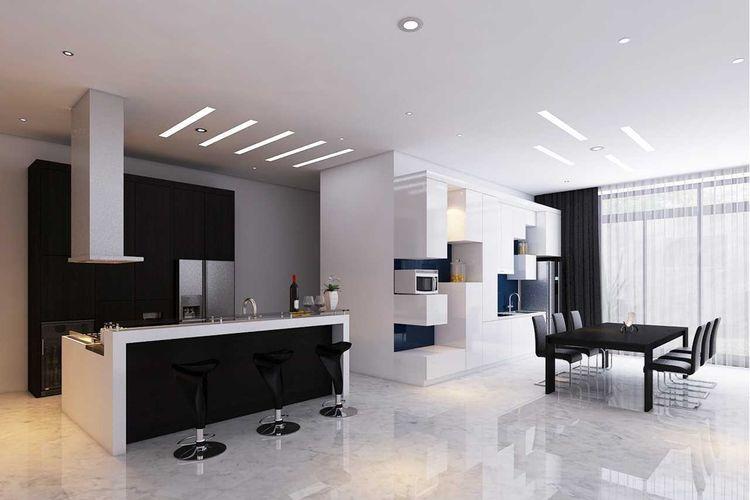 Dapur minimalis Sutera Onyx di Tangerang karya Interiores