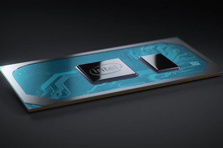 Ilustrasi prosesor Intel Core Generasi ke-10, Ice Lake.
