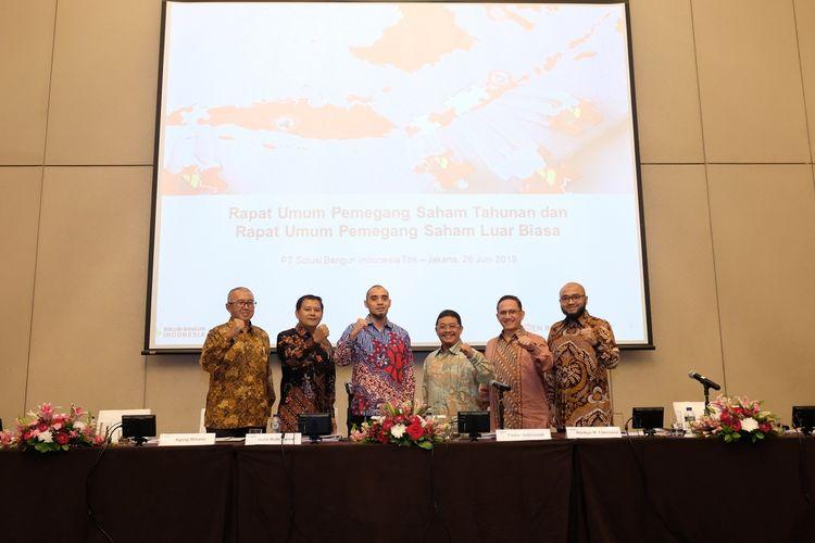 Rapat Umum Pemegang Saham dan Rapat Umum Pemegang Saham Luar Biasa SBI, Rabu (26/6/2019)