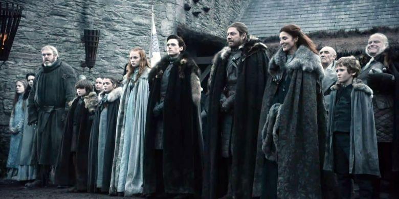 Keluarga Stark (House of Stark) yang berkuasa di Winterfell dalam serial Game of Thrones