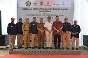 Genjot Penyaluran Gas, Pemerintah Resmikan Jargas Baru di Medan