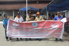 Pemkab Asmat Salurkan Bantuan untuk Korban Banjir Bandang Jayapura