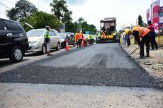 33 Kilometer Jalan di Sumatera Selatan Gunakan Aspal Karet