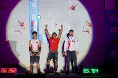(VIDEO) Dalam 5,764 Detik, Alfian Juara Dunia Panjat Tebing